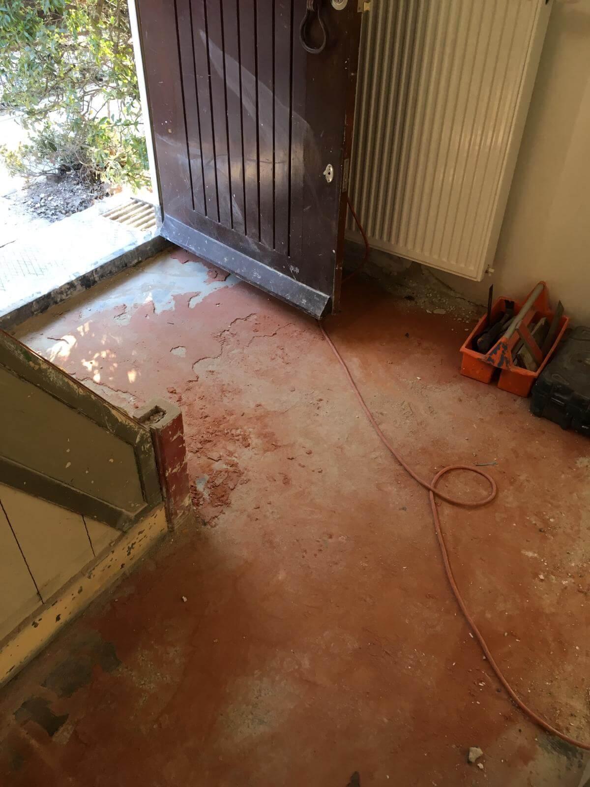 Lijmresten Van Granito Verwijderen