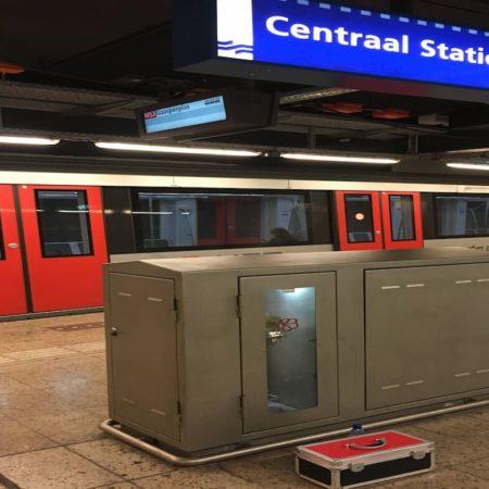 Antislip Meting Centraal Station