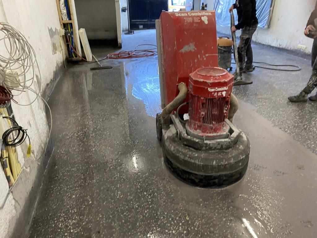 beton schuren