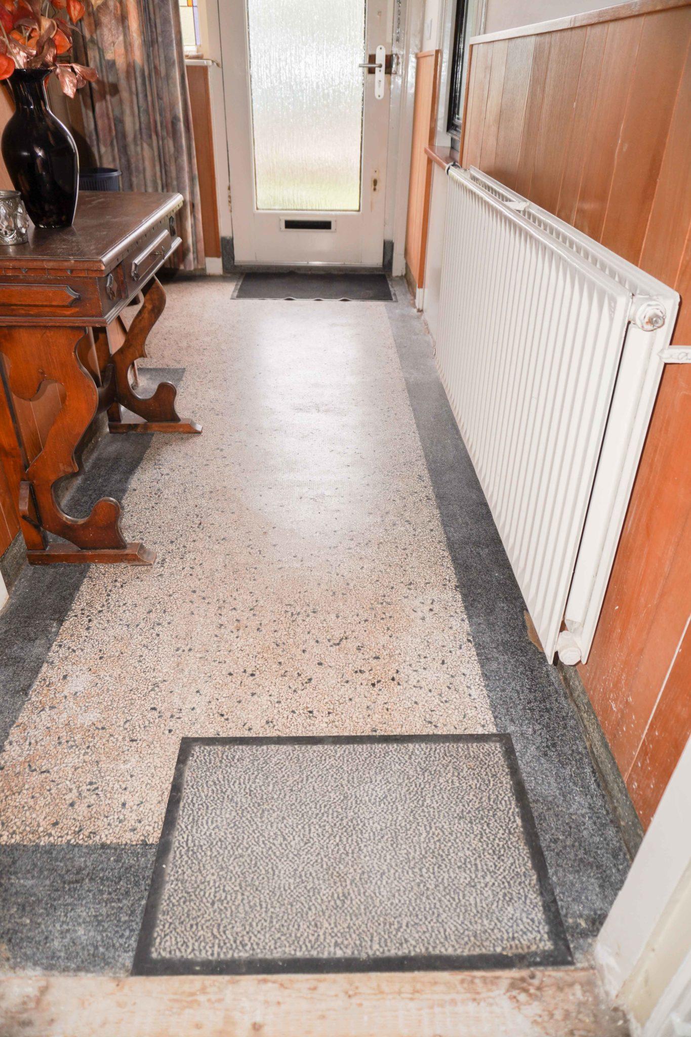 Onbehandelde Granito Vloer